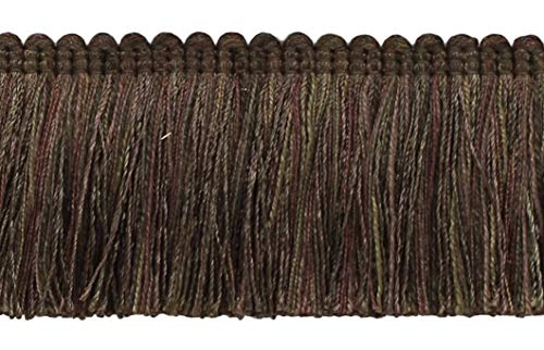 Veranda Collection 51mm Brush Fringe Trim|Mocha, Chocolate, Brown|Style#: 0200VB|Color: Chocolate - VNT27 |Sold by the Yard (91cm / 3 Ft / 36"|500|322|?|en|2|c9a91f47f2fd68496c3b826545f6f298|False|UNLIKELY|0.3509634733200073