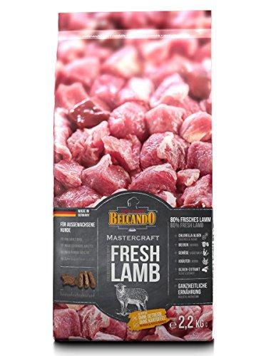 Belcando Mastercraft Fresh Lamb [2,2kg] Trockenfutter für Hunde | 80% Frischfleisch | Hundefutter getreidefrei | sortenrein | für alle Rassen