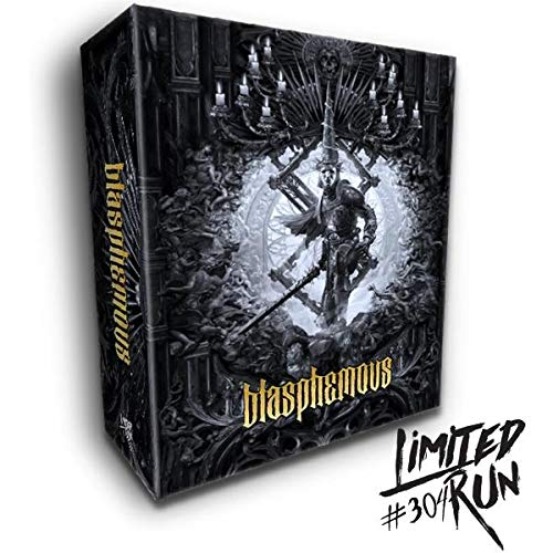 Blasphemous - Super sale period limited Soldering Collector's Edition Limited Sony Play #304 Run