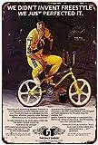 Shimeier GT BMX Freestyle BMX Retro Vintage Tin Sign Coffee House Business Dining Room Pub Beer 20 cm x 30 cm