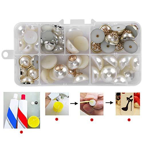 Plastic Pearl, Flatback Pearl Material plástico para teléfono móvil para álbumes de recortes