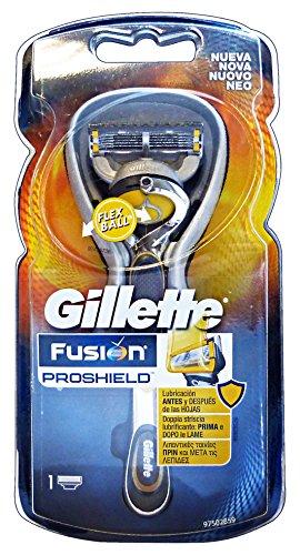 Gillette ProShield Maquinilla de Afeitar Hombre con Tecnología FlexBall +