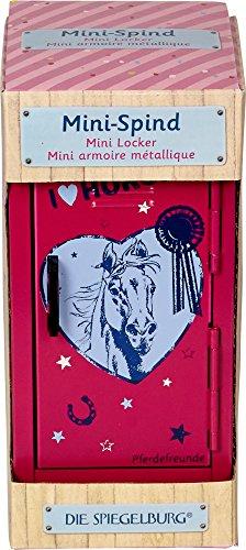 Spiegelburg Mini Spind Pferde Pferdefreunde (pink)
