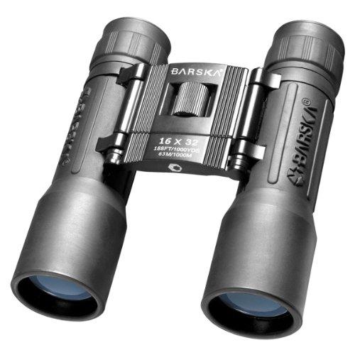 BARSKA Lucid 16x32 Compact Binocular (Black)
