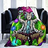 Face888 Plush Blanket 80'x60' Soft and Warm Throw Digital Printed Ultra-Soft Micro Fleece Blanket for Couch Bed Living Room