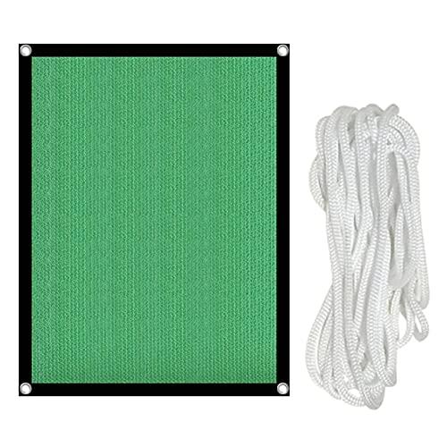 Zonnezeil voor broeikas, groene parasol van netstof, waterdicht, zonnezeil voor tuin, uv-bestendig, voor tuinplanten