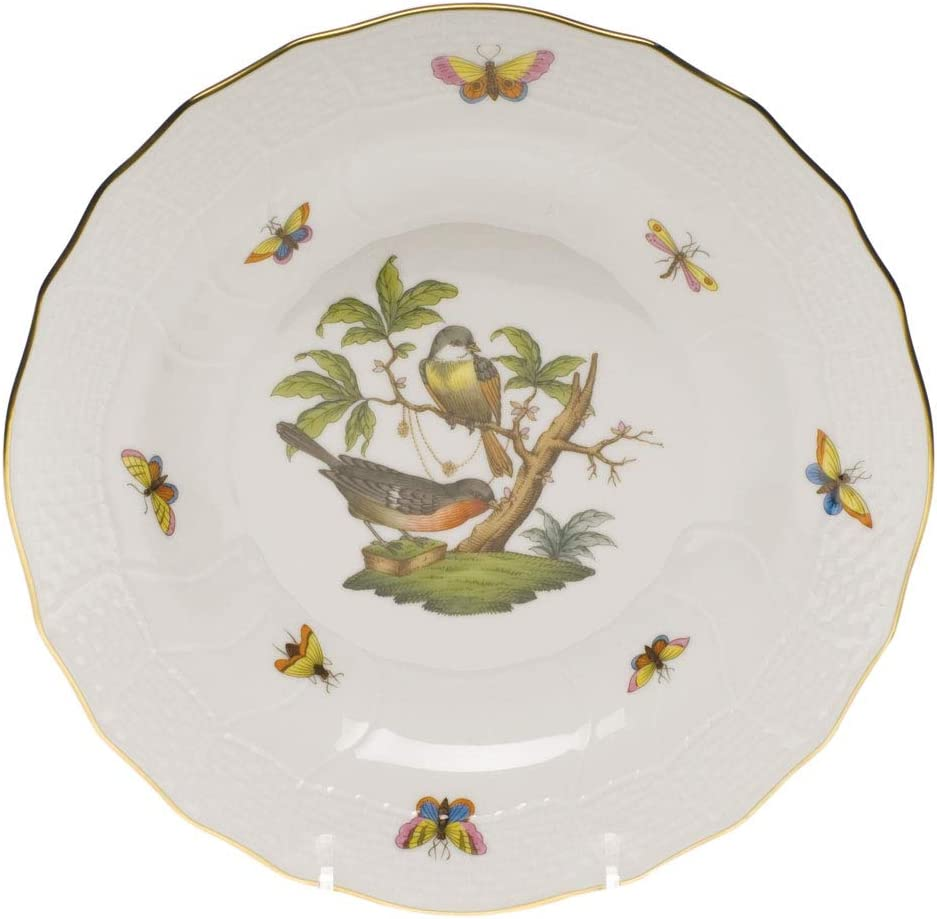 Herend All stores are sold Rothschild Bird Porcelain Motif #2 Dessert Plate price