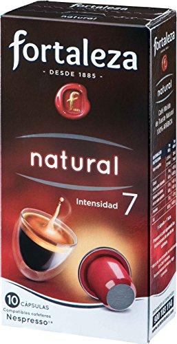 Café Fortaleza, Cápsulas de café (Natural) - 5 de 10 Cápsulas (Total 50 Cápsulas)