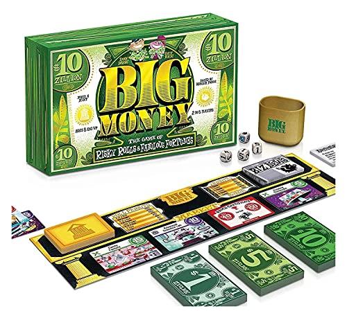 RSWLY Ravensburger Big Money - Juego de mesa familiar para niños de 8 años en adelante, rollos arriesgados y fabulosas fortunas