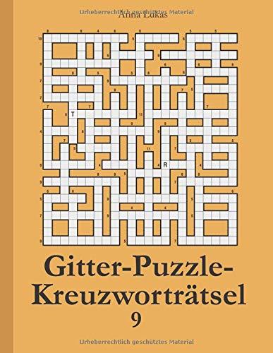 Gitter-Puzzle-Kreuzworträtsel 9