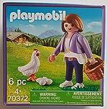 Playmobil 70372 Milka Edition - Figura de mujer con cesta, gallina y huevos (1 juego)