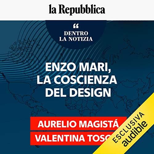 Enzo Mari, la coscienza del design cover art
