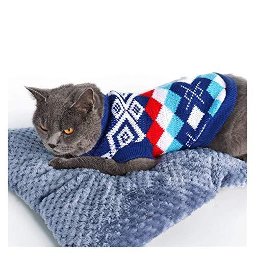 Hunde Shirts Niedlicher Hund Pullover Winterkleidung Welpen gestrickte...