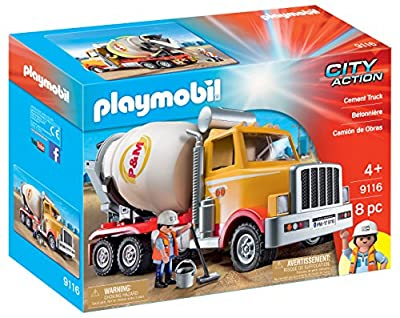 Toy Cement Mixer by Playmobil