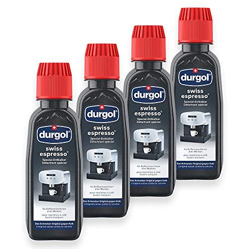 Tchibo Durgol Swiss Spezial-Entkalker für Kaffeemaschinen, 2 x 2 Flaschen (4 x 125ml)