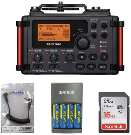 Tascam DR-60DmkII 4-Channel 2021 spring and summer new Portable Recorder 16GB C Safety and trust with Memory