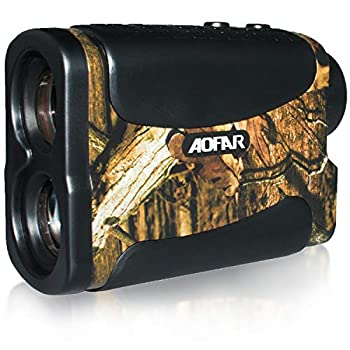 AOFAR HX-700N Hunting Range Finder 700 Yards Waterproof Archery Rangefinder for Bow Hunting with Range Scan Fog and Speed Mode Free Battery Carrying Case