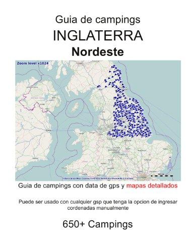 Guia de campings NORESTE DE INGLATERRA (con data de gps y mapas detallados)