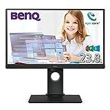 BenQ アイケアモニター GW2480T 23.8インチ/フルHD/IPS/ノングレア/輝度自動調整(B.I.)/カラーユニバーサルモード/スピーカー/HDMI/DP/D-sub/高さ調整/回転