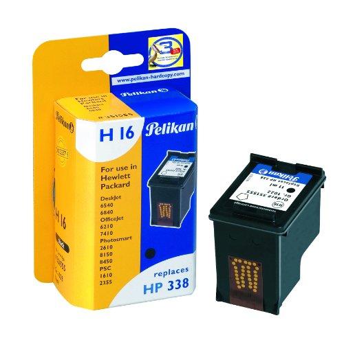 Pelikan H16 C8765EE Druckerpatrone (ersetzt HP 338) schwarz