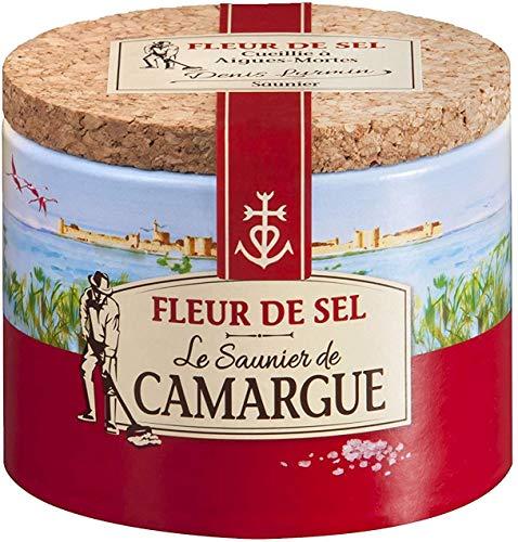 Le Saunier De Camargue - Fleur de sel - Le pot de 125g - (pour la quantité plus que 1 nous vous remboursons le port supplémentaire)