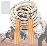 CZ-XING Cuerda de saltar para multijugadores, cuerda larga, 5 metros, 7 metros, grupo de 10 metros, cuerda de saltar y saltar multijugador (10 metros)