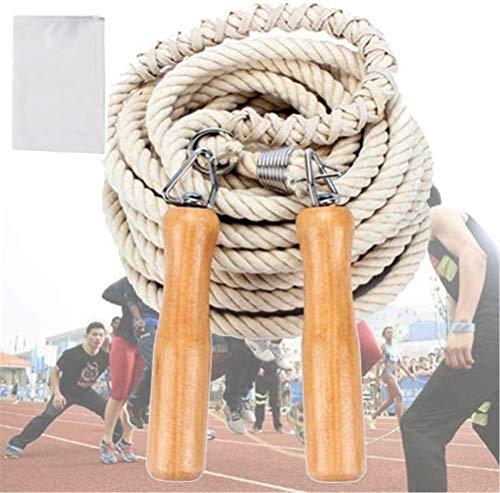 CZ-XING Cuerda de saltar para múltiples jugadores cuerda larga de 5...