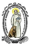 Saint Columbanus Patron of Bravery Lined Notebook Journal