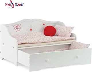 girls trundle day bed