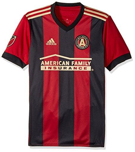 MLS Atlanta United Adult Men Replica Wordmark s/jersey,Small,Red