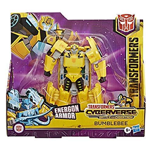 Transformers Hasbro E7106ES0 Spielzeug Cyberverse Ultra-Klasse Bumblebee Action-Figur, lässt Sich für mehr Power mit der Energon Armor kombinieren – Für Kinder ab 6 Jahren, 17 cm