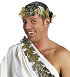 Panelize Lorbeerkranz Laurus Gold Römerkostüm Cäsar Kaiser Zubehör für antike Kostüme