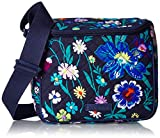 Vera Bradley Women's Signature Cotton Stay Cooler Lunch Bag, Moonlight Garden