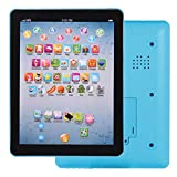 RIBITENS Kids Pad Toy Computer Pad Tablet Education Learning Education Machine Touch Screen Tab Electronic Systems