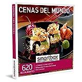 Smartbox - Caja Regalo Amor para Parejas - Cenas del Mundo - Ideas Regalos Originales - 1 Comida o Cena para 2 Personas