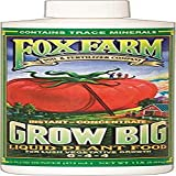 Fox Farm 6-4-4, 1-Pint FX14092 Grow Big Liquid Concentrate Fertilizer, Soil NPK 6-4, White