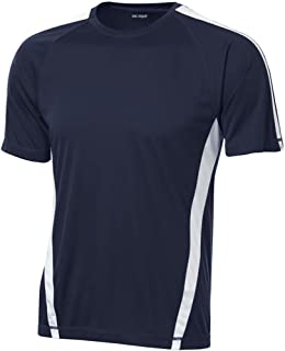 Men's Short Sleeve Moisture Wicking 2-Color Athletic T-Shirts