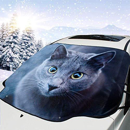 Nargut Car Sun Shade Windscreen Sunshade Cover Foldable Umbrella Windshield UV Protection Car Sun Umbrella with Storage Bag