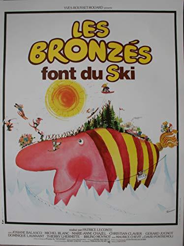 Les BRONZES Font du Ski Affiche Cinéma ROULEE (Petit Format 53x40 cm) R1990