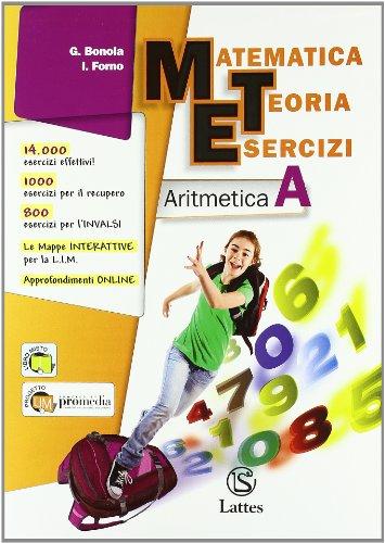 Matematica teoria esercizi. Aritmetica. Con tavole numeriche-Il mio quaderno INVALSI. Per la Scuola media. Con espansione online (Vol. 1)