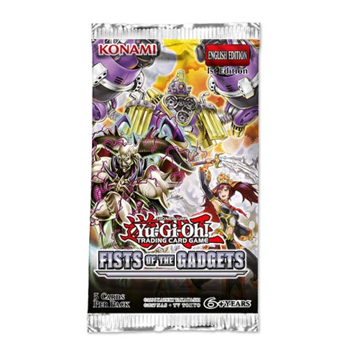 Yu-Gi-Oh KONFOTG Fist of The Gadgets Booster-Paket