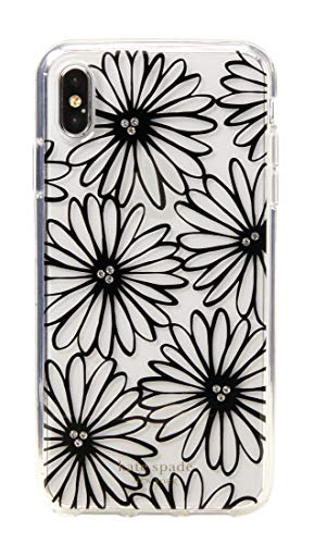 Kate Spade New York Daisy Clear Black iPhone X/XS Case