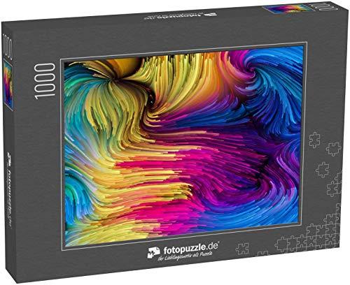 Puzzle 1000 Teile Color In Motion Serie - Klassische Puzzle, 1000 / 200 / 2000 Teile, edle Motiv-Schachtel, Fotopuzzle-Kollektion 'Kunst 2'