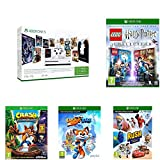 Pack KIDS: Xbox One S 1To 3M Game Pass & 3M Live Gold + Lego Harry Potter Collection + Super Luckys Tale + Rush: A Disney-Pixar Adventure + Crash...