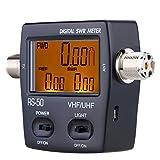 Youmei RS-50 Digital SWR/Watt Meter VHF/UHF 125-525MHz 120W for Two-Way Radio