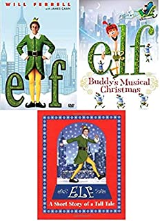 Elf & Elf:Buddy's Musical Christmas + Elf: A Short Story Tale - 32 pages BOOK