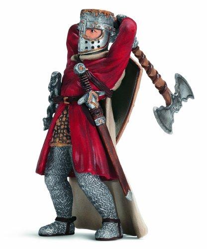 SCHLEICH 70061 - Ritter, Fußsoldat mit Streitaxt