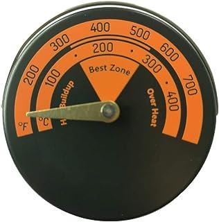 YUZI - Termometro magnetico per stufa, per stufa a legna, indicatore di temperatura