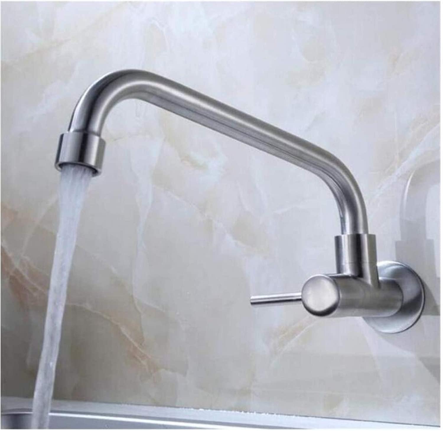 Brass Wall Faucet Chrome Brass Faucetfaucet Single Handle Hole Mixer Tap