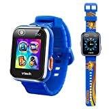 VTech KidiZoom Smartwatch DX2, Special Edition Skateboard Swoosh with Bonus Royal Blue Wristband
